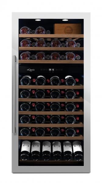 mQuvée Weinkühlgerät WineServe 89 Stainless