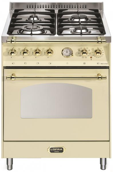 LOFRA - DOLCEVITA - SINGLE OVEN 60 cm - RBI 66 MFT/ CI - IVORY - MESSING FINISH