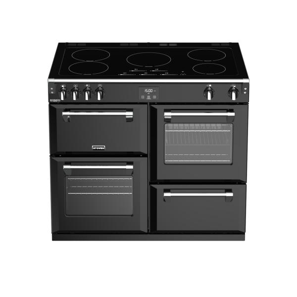 STOVES RICHMOND Deluxe S1000 Schwarz Induktion