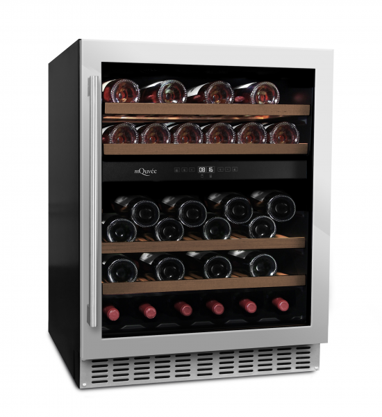 mQuvée Weinkühlgerät WineCave 700 60D Stainless