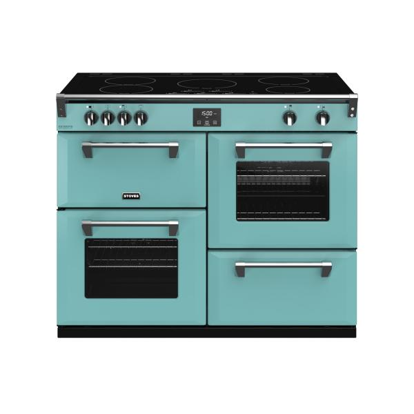 STOVES RICHMOND Deluxe S1100 Ei Induktion Country Blue/Chrom