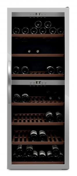 mQuvée Weinkühlgerät WineExpert 126 Stainless