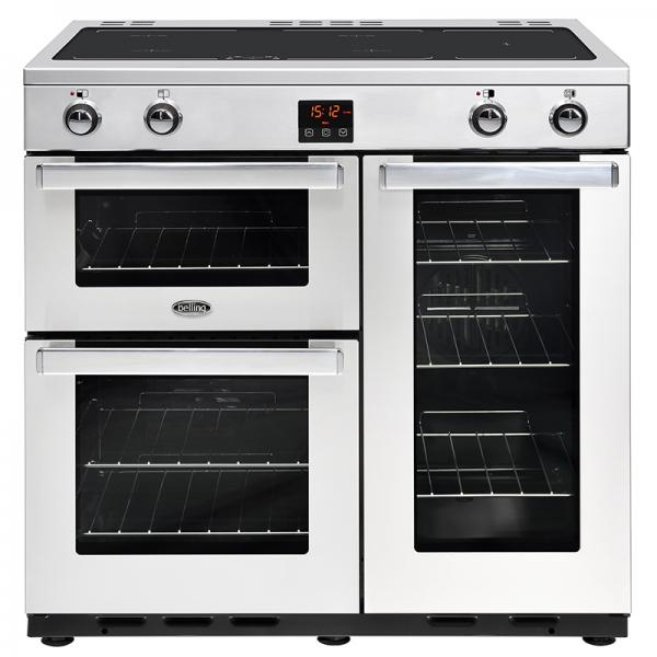 Belling Cookcentre 90 Ei prof. Stainless Steel