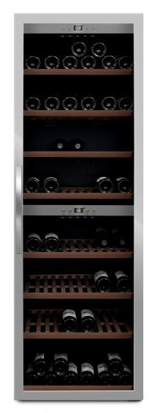 mQuvée Weinkühlgerät WineExpert 180 Stainless