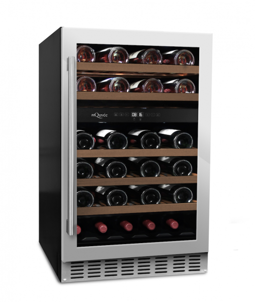 mQuvée Weinkühlgerät WineCave 700 50D Stainless
