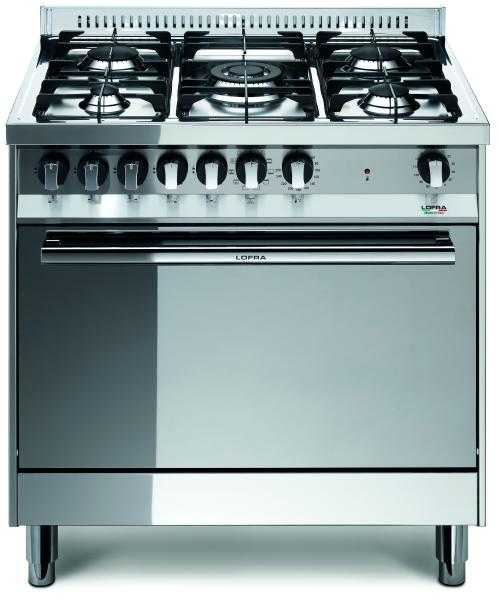 LOFRA - MAXIMA - SINGLE OVEN 80 cm - MG 86 MF/C - Gas / Elektro - INOX