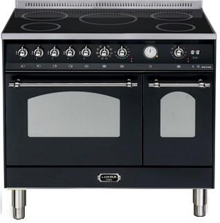 LOFRA - DOLCEVITA - INDUKTION - DOUBLE OVEN - RNMD 96 MFTE/ 5I - Black - Chrome Finish