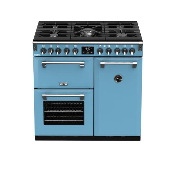 STOVES RICHMOND Deluxe S900 DF GAS CB Days Break (Blau)