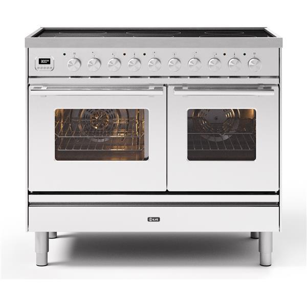 ILVE - Professional Plus Double Oven 6 Zonen Induktion Edelstahl