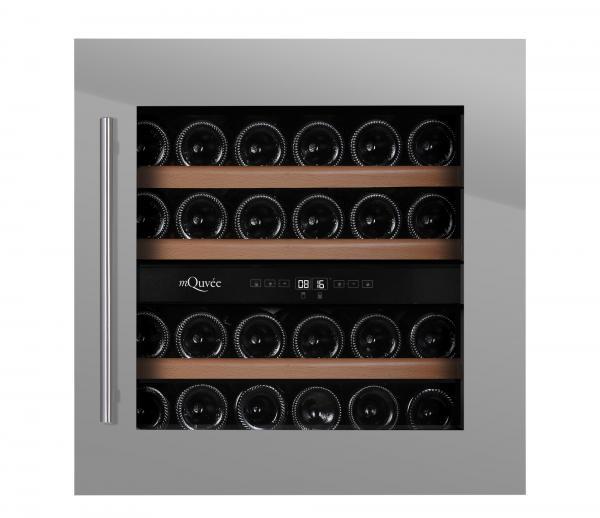 mQuvée Weinkühlgerät WineMaster 36D Stainless