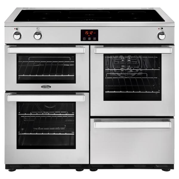 Belling Cookcentre 100 Ei prof. Stainless Steel