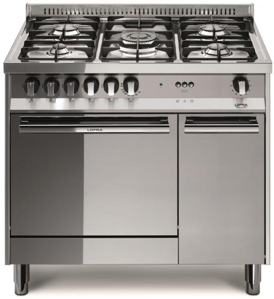 LOFRA - MAXIMA - SINGLE OVEN 90 cm - MT 96 MF/C - Gas / Elektro - INOX