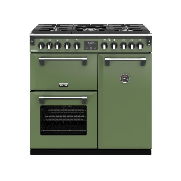 STOVES RICHMOND Deluxe S900 DF GAS Soho Green