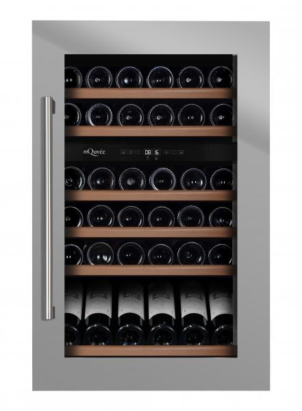 mQuvée Weinkühlgerät WineMaster 59D Stainless