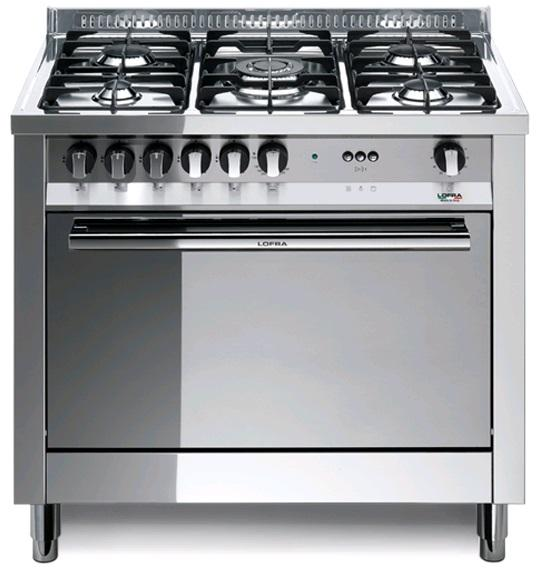 LOFRA - MAXIMA - SINGLE OVEN 90 cm - MG 96 MF/C - Gas / Elektro - INOX
