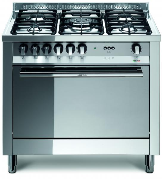 LOFRA - MAXIMA - SINGLE OVEN 90 cm - MG 96 GV/ C - GAS / GAS -