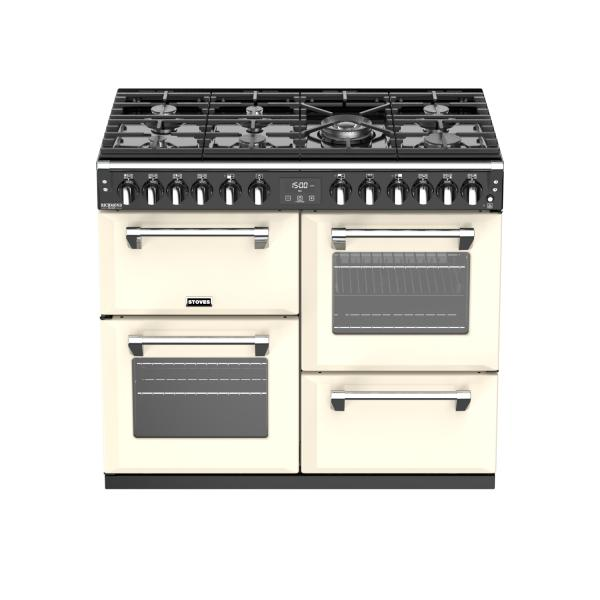 STOVES RICHMOND Deluxe S1000 DF GAS Creme