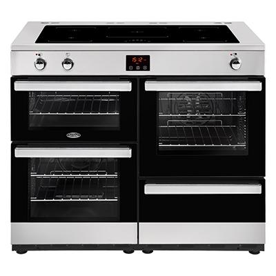 Belling Cookcentre 110 Ei Black / Stainless