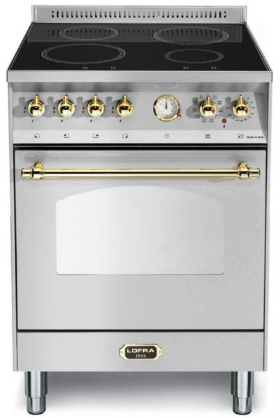 LOFRA - DOLCEVITA INDUKTION - SINGLE OVEN 60cm - RS 66 MFT/ 4I- Stainless Steel Messing Finish