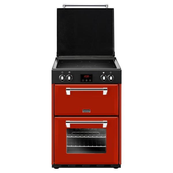 STOVES RICHMOND 600 EI INDUKTION Red/Chrom
