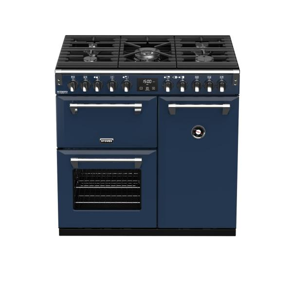 STOVES RICHMOND Deluxe S900 DF GAS CB Midnight Blue