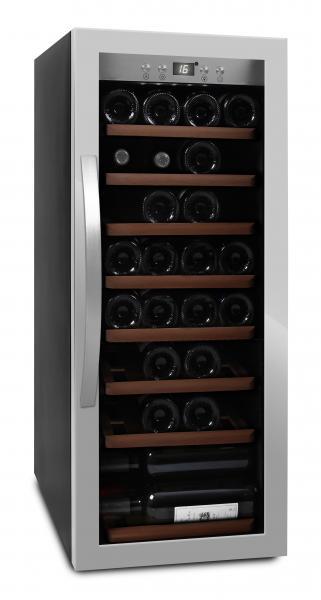 mQuvée Weinkühlgerät WineExpert 43 Stainless
