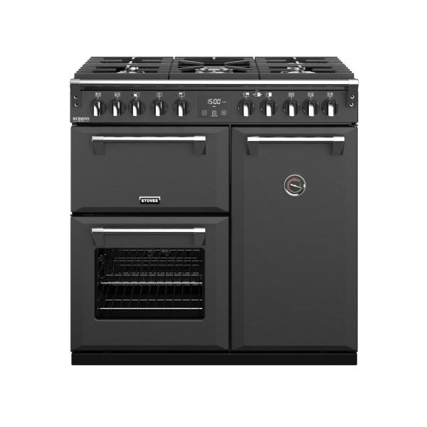STOVES RICHMOND Deluxe S900DF EU CB Anthracite GAS