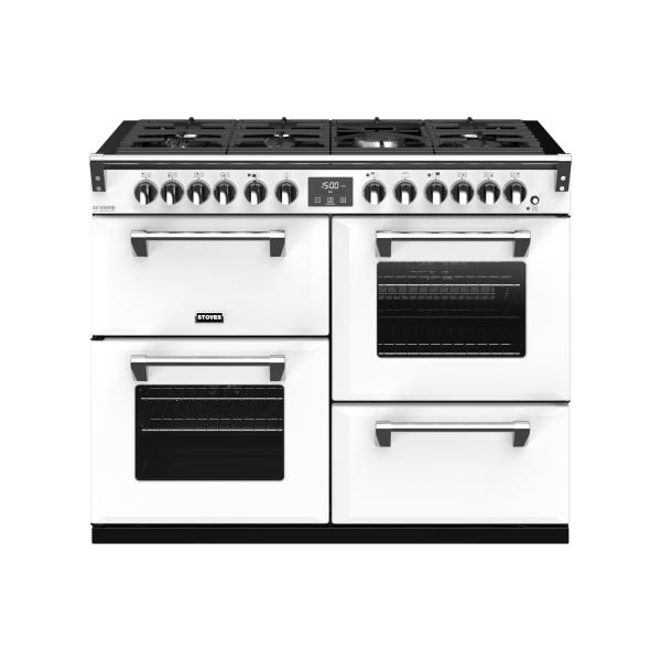 STOVES RICHMOND Deluxe S1100 DF Gas Icy White/Chrom