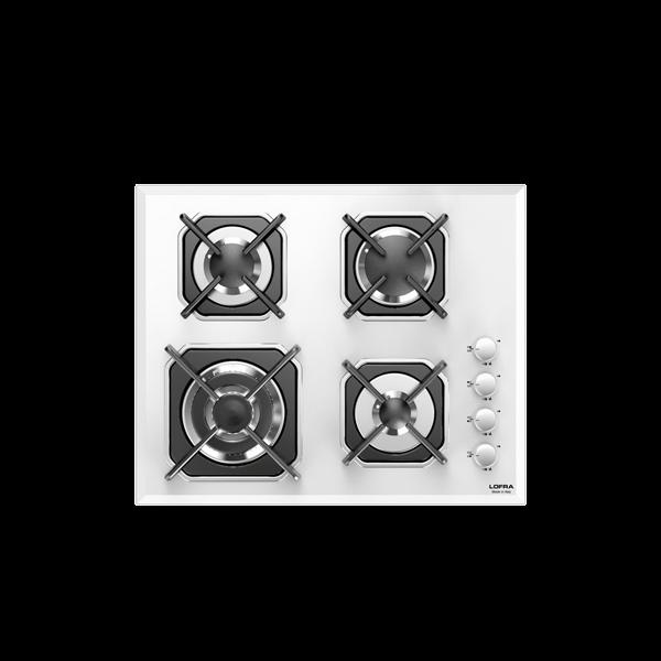 LOFRA - MERCURIO - GAS KOCHFELD 60 cm - HGB 6 H0 - White