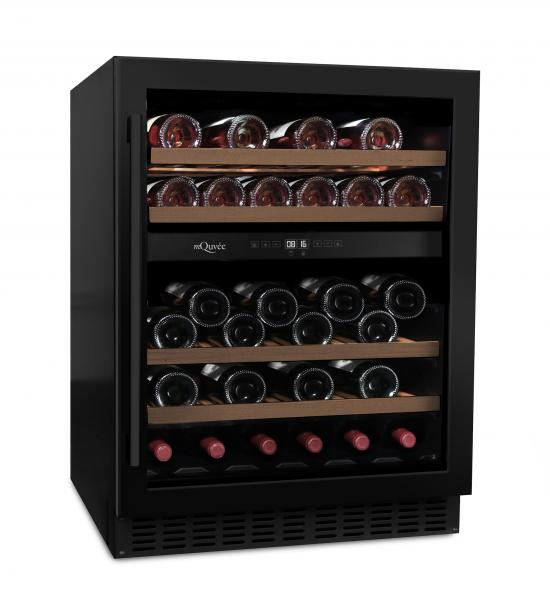 mQuvée Weinkühlgerät WineCave 700 60D Anthracite Black