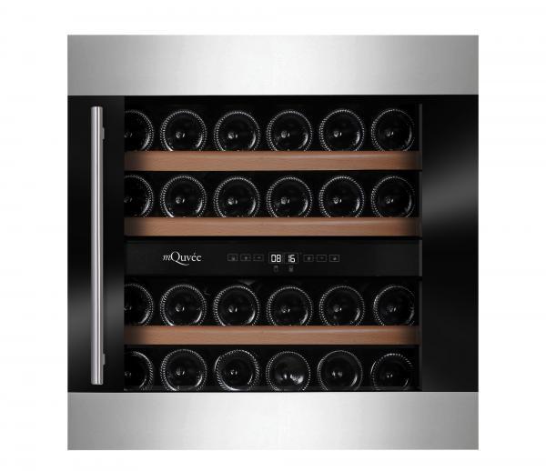 mQuée Einbauweinkühlschrank WineKeeper WKD25M