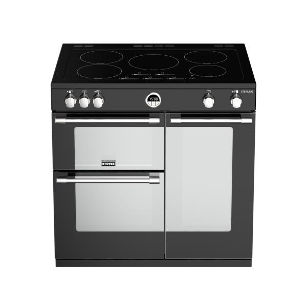 STOVES STERLING S900 Schwarz Induktion