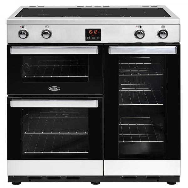 Belling Cookcentre 90 Ei Black / Stainless