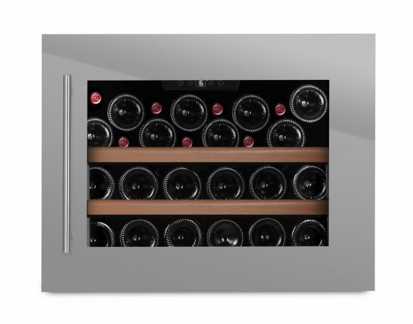 mQuvée Weinkühlgerät WineMaster 24S Stainless