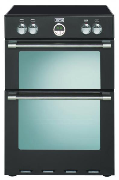 STOVES STERLING 600 EI INDUKTION Schwarze/Nickel