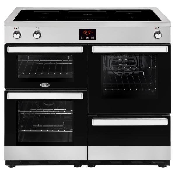 Belling Cookcentre 100 Ei Black / Stainless