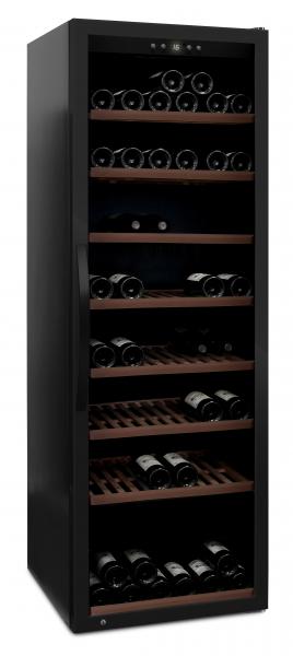 mQuvée Weinkühlgerät WineExpert 192 Fullglass Black
