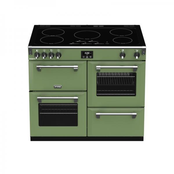 STOVES RICHMOND Deluxe EI S1000 Soho Green (Grün) Induktion