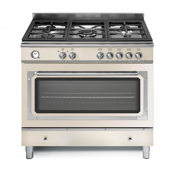 FRATELLI - Imperial Gas - Single Oven - IM296.50 Ivory