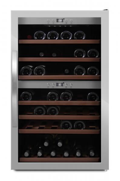 mQuvée Weinkühlgerät WineExpert 66 Stainless