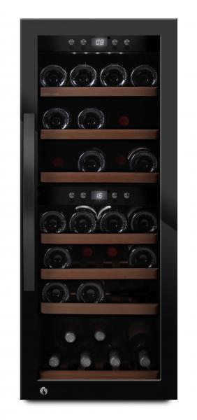 mQuvée Weinkühlgerät WineExpert 38 Fullglass Black