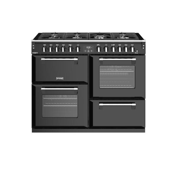 STOVES RICHMOND Deluxe S1100 DF GAS Schwarz