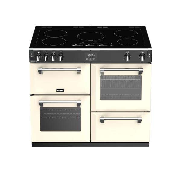 STOVES RICHMOND Deluxe S1000 Creme Induktion