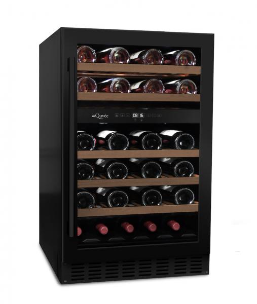 mQuvée Weinkühlgerät WineCave 700 50D Anthracite Black
