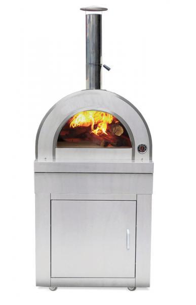 Holzbefeuerter Pizzaofen