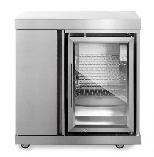 Modul mit Kühlschrank und Aufbewahrungsschrank